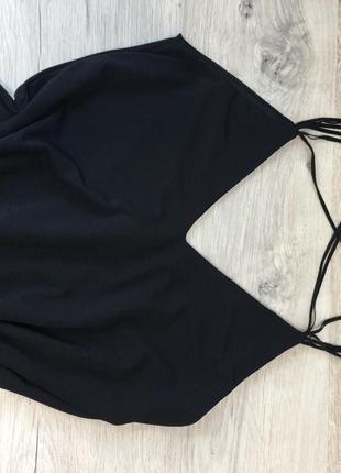 Чёрное платье zara6 фото
