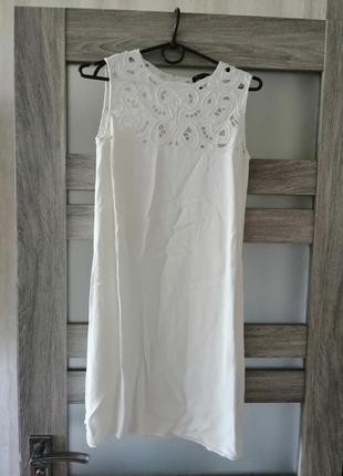 Красивое нежное летнее платье massimo dutti