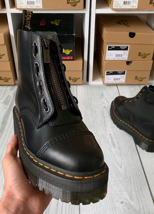 Ботинки от dr.martens sinclair black smooth