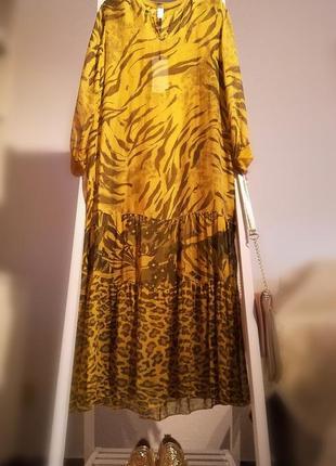 Моднейшее шёлковое платье италия