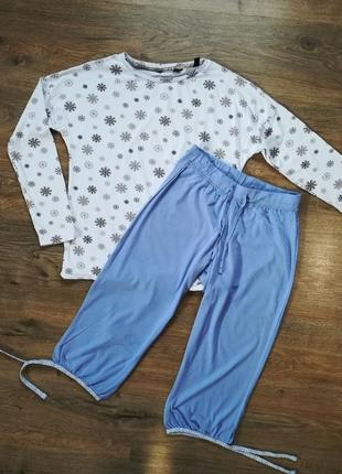 Пижама, домашний костюм s 36-38 tchibo германия реглан, капри2 фото