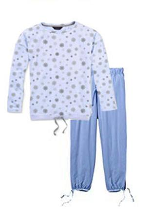 Пижама, домашний костюм s 36-38 tchibo германия реглан, капри