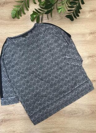Стильный трикотажный реглан/блузон 3xl-5xl