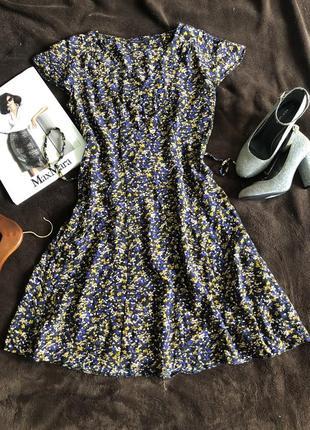Платье летнее в цветочный принт m&s