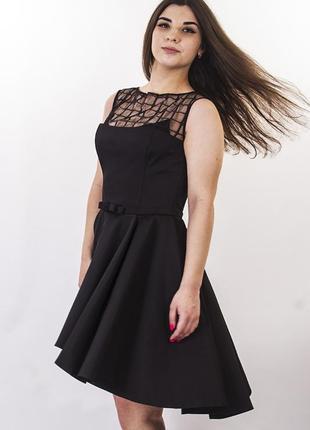 Sale пышное платье чёрное red isabel italy