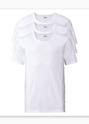 Комплект футболка нательная, базовая 3 шт. livergy германия