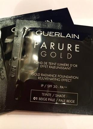 Тональный крем  guerlain parure gold