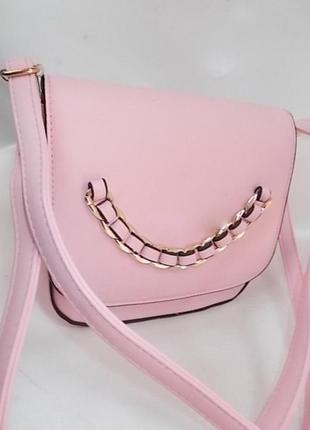 Клатч, сумка через плечо 236 розовый