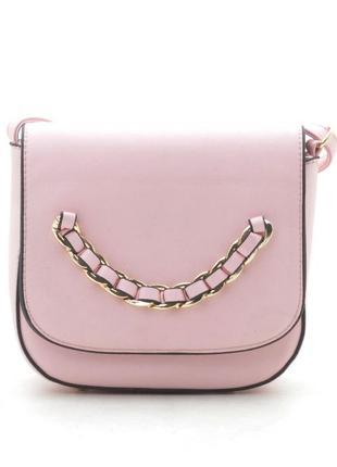 Клатч, сумка через плечо 236 розовый2 фото