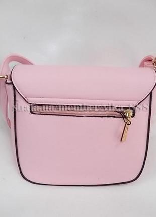 Клатч, сумка через плечо 236 розовый3 фото