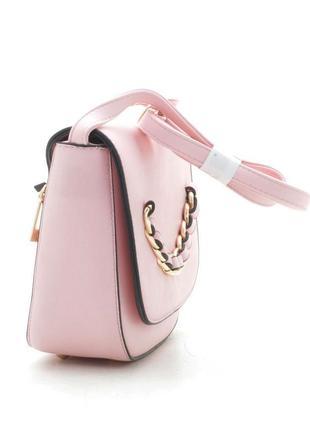 Клатч, сумка через плечо 236 розовый4 фото
