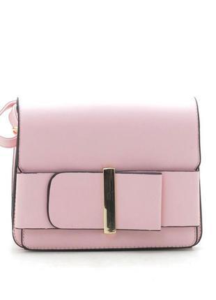 Клатч, сумка через плечо 709 розовый