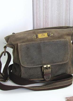 Крутая сумка rowallan, британия, натуральная кожа. люкс бренд!