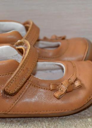 Туфли кожаные clarks 12 см стелька