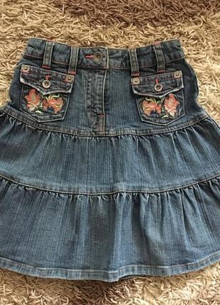 Джинсовая юбка для девочки , s. oliver.