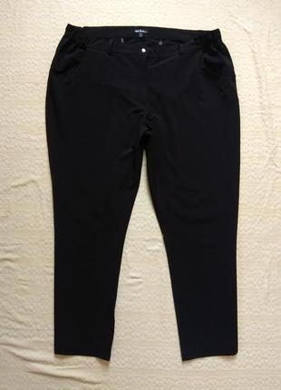 Боталы великаны черные штаны брюки ulla popken, 22-24 размер.