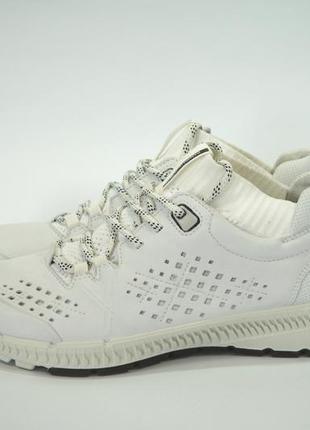 Кожаные кроссовки ecco intrinsic. оригинал 39р.