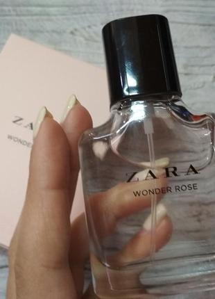 Парфуми zara wonder rose 30ml