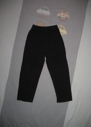 Спортивные штаны черные рост 110/116 см
