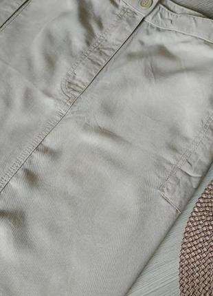 Бежевая длинная юбка прямая большой размер 262 фото