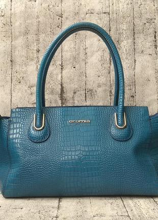 Стильная кожаная сумочка cromia