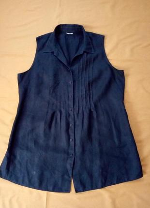 Распродажа! льняная блуза, блузка, рубашка  №6bp