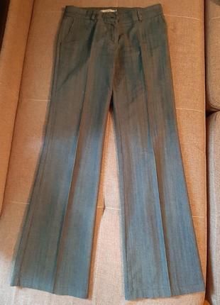 Деловые брюки из коттона