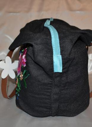 Красивая джинсовая сумка fabrizio3 фото