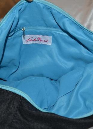 Красивая джинсовая сумка fabrizio5 фото