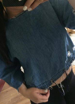 Продам джинсовую кофту