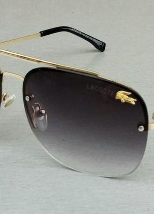 Lacoste очки мужские солнцезащитные коричневые