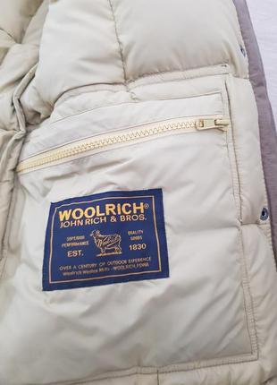 Woolrich пуховик пальто куртка зимняя оригинал6 фото