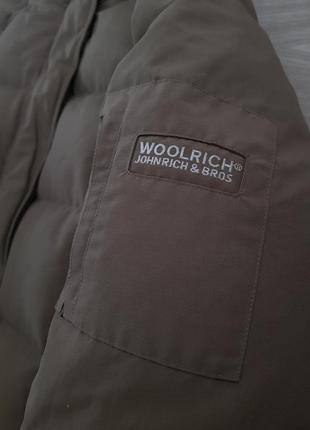 Woolrich пуховик пальто куртка зимняя оригинал4 фото