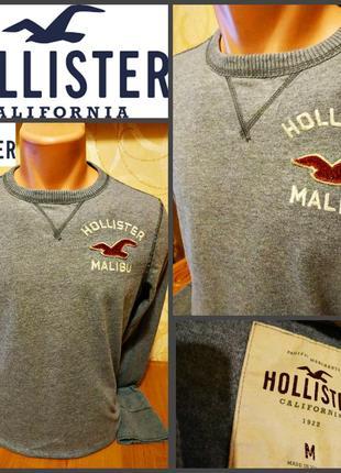 Реглан от модного американского бренда  hollister, оригинал, р. m, пр-во вьетнам