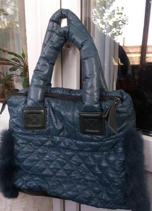 Брендовая зимняя сумка