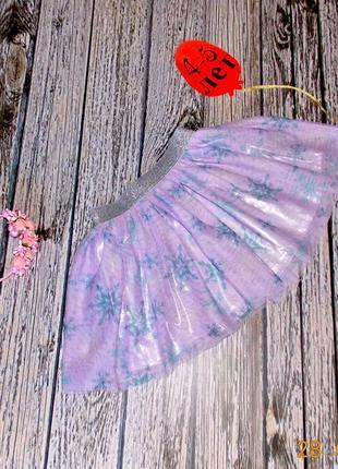 Шифоновая юбка disney для девочки 4-5 лет, 104-110 см