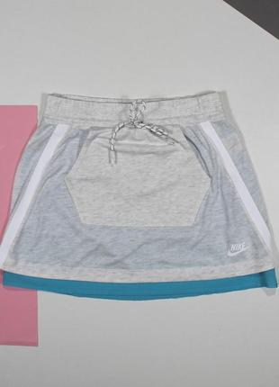 Оригинальная юбка в меланж nike tech fleece