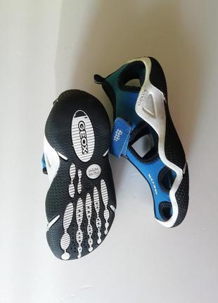 Спортивные сандалии на мальчика от geox - стопа 18 см.
