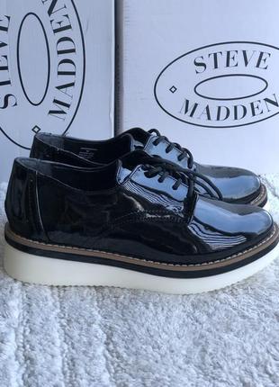 Лаковые туфли бренд steve maden