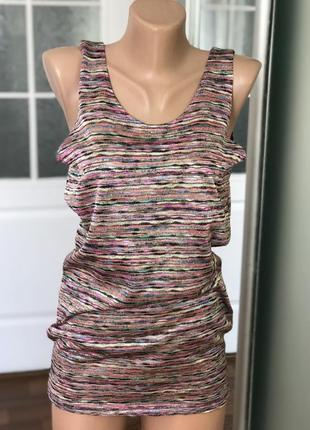 Майка туника цветная h&m платье 👗2 фото