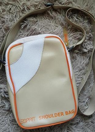Оригинал.новая,стильная,мужская,фирменная сумка esprit