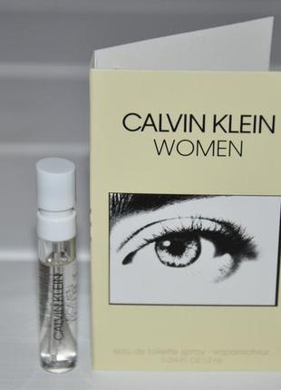 Calvin klein women eau de toilette calvin klein — новый аромат для женщин 2019 (пробник)