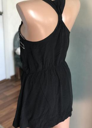 Нарядная блузка майка блага с бисером2 фото