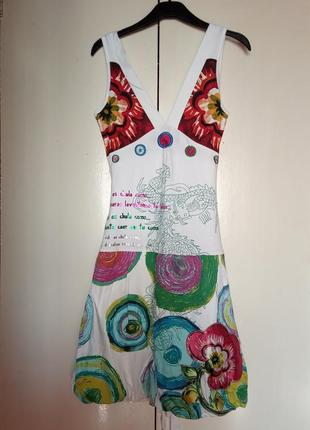 Платье desigual, р.s. новый сарафан
