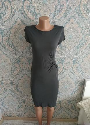 Безумно легкое вискозное платье миди длины