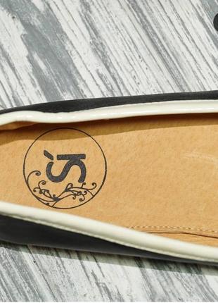 Si. кожа. фирменные туфли, мокасины на низком ходу2 фото