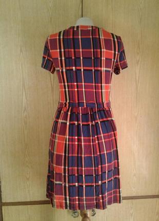 Вискозное яркое платье, xs-l.4 фото