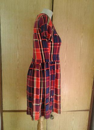 Вискозное яркое платье, xs-l.6 фото