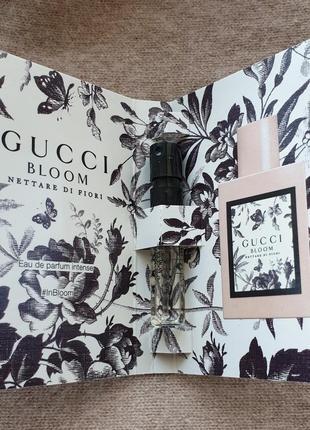 Пробник аромата gucci - bloom nettare di fiori