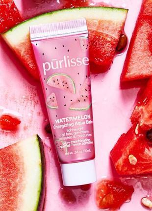 Увлажняющий и освежающий арбузный крем-гель для лица purlisse